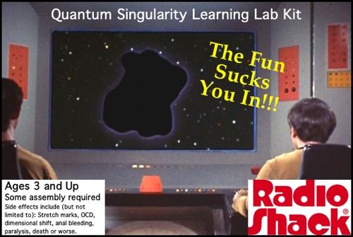 Home Quantum Singularity Learning Lab Kit