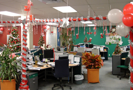 Christmas down your throat shouts from the abyss for 12 days of christmas decoration theme