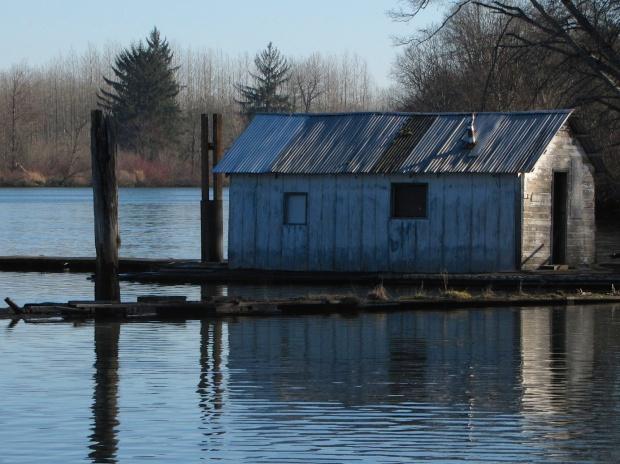 river-shack