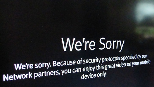 Apple TV We're Sorry