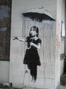 banksy-girl