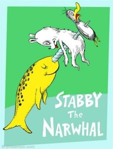 """Artistic rendering of """"stabby."""""""