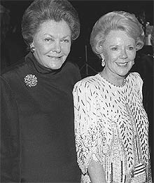 Helen Copley and Joan Kroc intersected in real life, too.