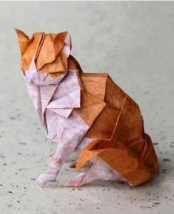 origami-cat